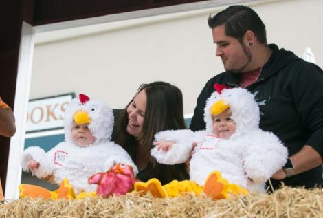 Cutest Chick Contest at Butter and Egg Days Festival