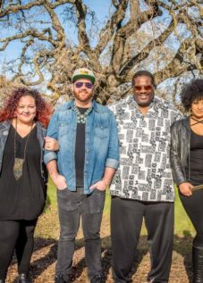 Melvin Seals and JGB, one of the acts at the Petaluma Music Festival