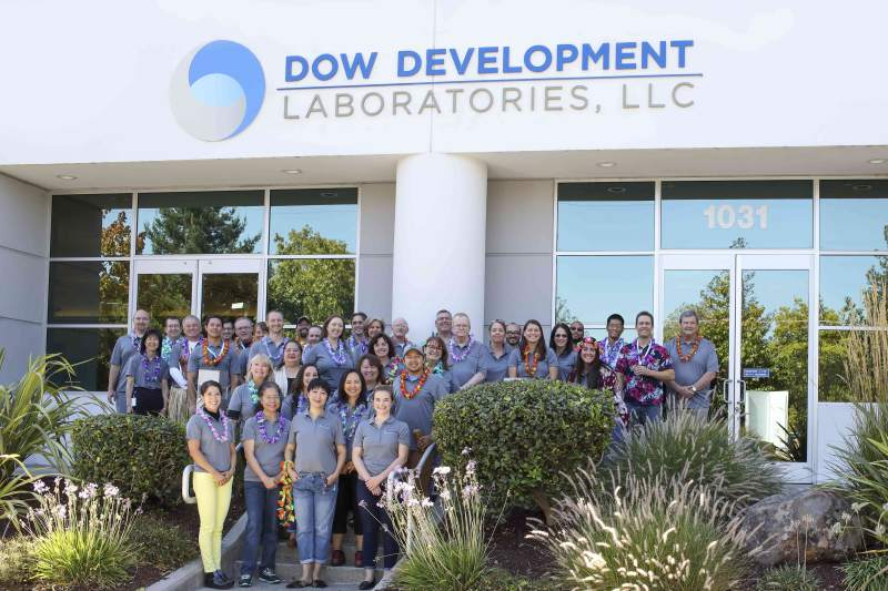 Staff of Dow Development Laboratories in Petaluma